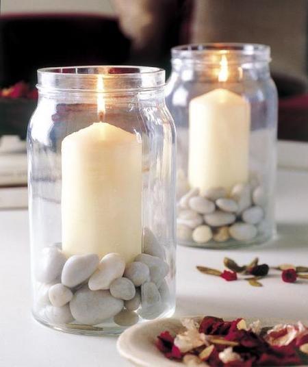 Hazlo tú mismo: unos candelabros muy veraniegos