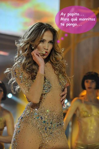 Jennifer Lopez, más caliente que el palo de un churrero de fiesta tras los AMA
