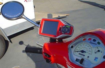 Incorpora un GPS a tu Vespa