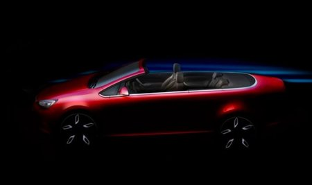 Primer teaser del Opel Astra Cabrio