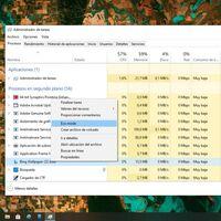 El Modo Eco llega al Administrador de tareas de Windows: Microsoft habla de una mejora de respuesta de hasta un 76%