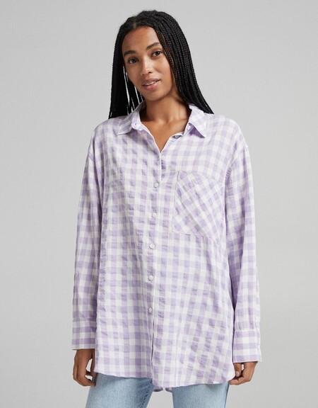 Camisa Print Cuadros