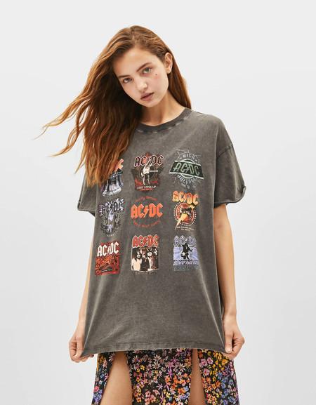 Bershka Camisetas Banda 90 01