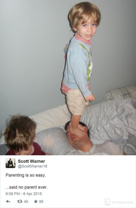 La paternidad es fácil