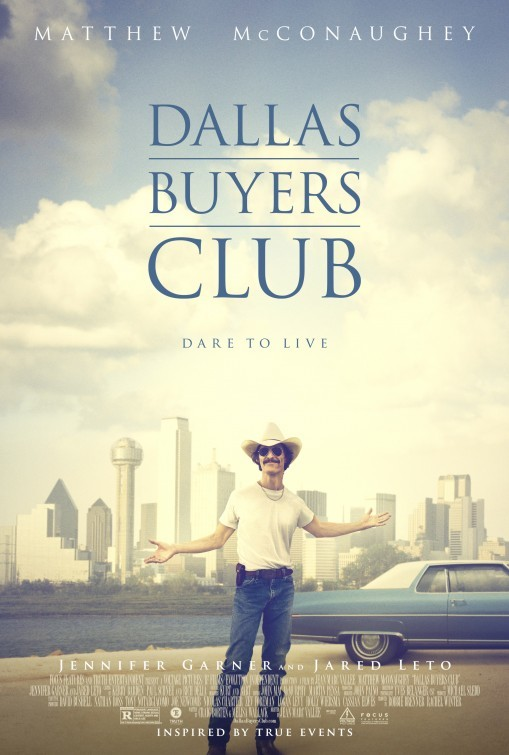 Carteles de 'Dallas Buyers Club'