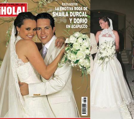El vestido de novia de Shaila Dúrcal