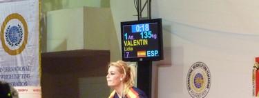 Entrevista a Lidia Valentín Pérez, campeona de Europa de halterofilia