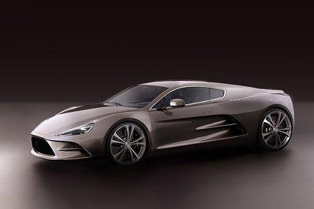 Aston-Martin Bulldog GT HBH, ¡Con motor central!