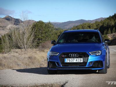 Probamos el Audi RS3 Sportback, el coche compacto más potente y bestia del mundo con 400 CV