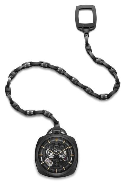 Panerai sorprende al público con su nuevo reloj de bolsillo