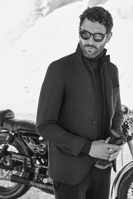 Noah Mills Massimo Dutti Fall Winter 2016 Eveningwear Lookbook 008