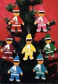 Muñecos para decorar el árbol de Navidad