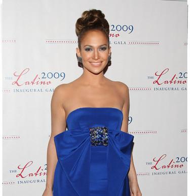 El look de Jennifer Lopez en la Gala Latina Inaugural 2009