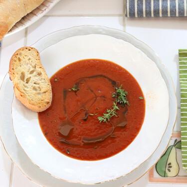 Receta de sopa de tomate, la crema de hortalizas más sabrosa del mundo