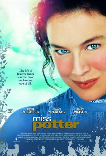 Trailer y póster de 'Miss Potter' con Ewan McGregor y Renée Zellweger