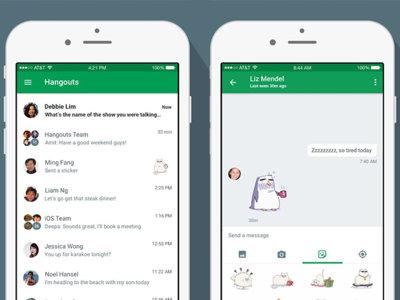 Google Hangouts se actualiza a los grande... aunque no en tu dispositivo Android