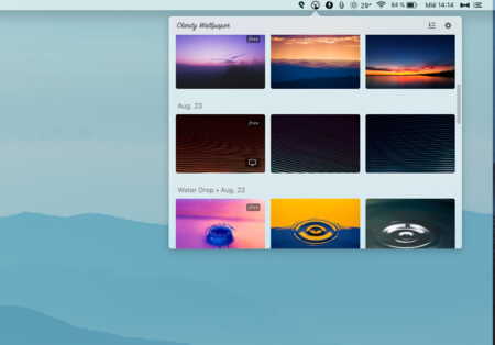 Clarity Wallpaper, una app gratuita para descubrir fondos de pantalla minimalistas en macOS