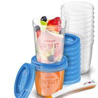 Oferta flash en el juego de recipientes para comida de bebé Philips Avent SCF721/20: su precio es de 19,88 euros en Amazon