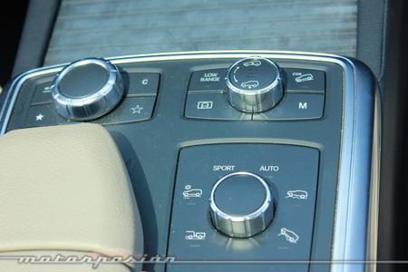 Conducción todoterreno con el Mercedes ML350