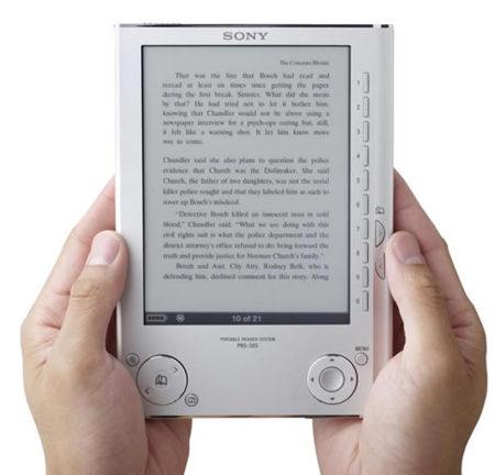 Medio millón de libros en Google accesibles para el ebook de Sony