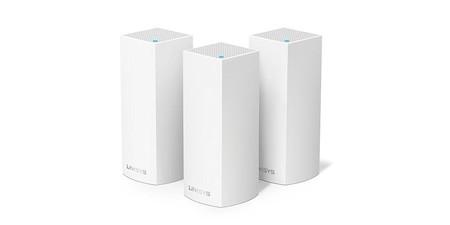 Hoy en Amazon tienes un precio estupendo para el sistema WiFi en malla Linksys Velop WHW0303: sólo 274,49 euros