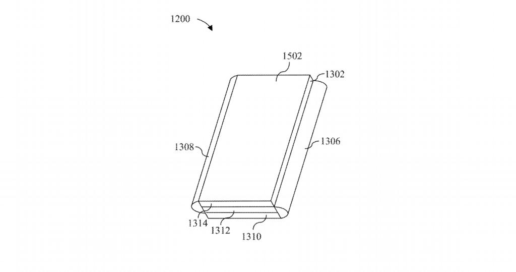 Esta patente muestra el probable interés de Microsoft℗ en alcanzar un smartmovil con tres pantallas  y plegable