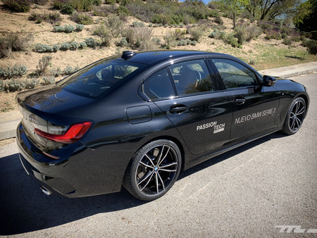 BMW Serie 3 2019 trasera lateral
