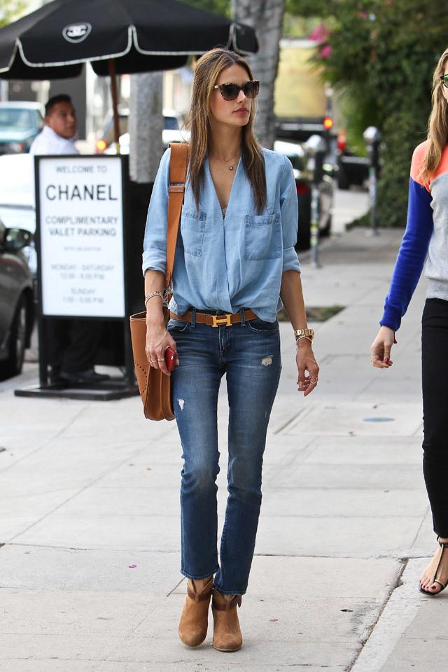 Foto de Top 10:6: Las famosas con mejor street style de 2013 (21/25)