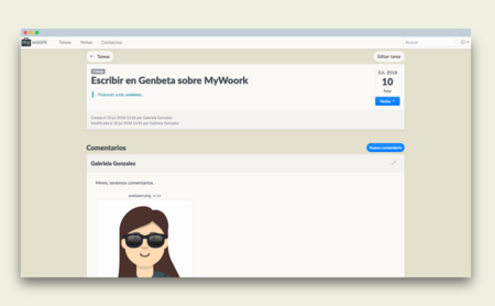 Mywoork: un gestor de notas, tareas y contactos para trabajar en equipo hecho en España
