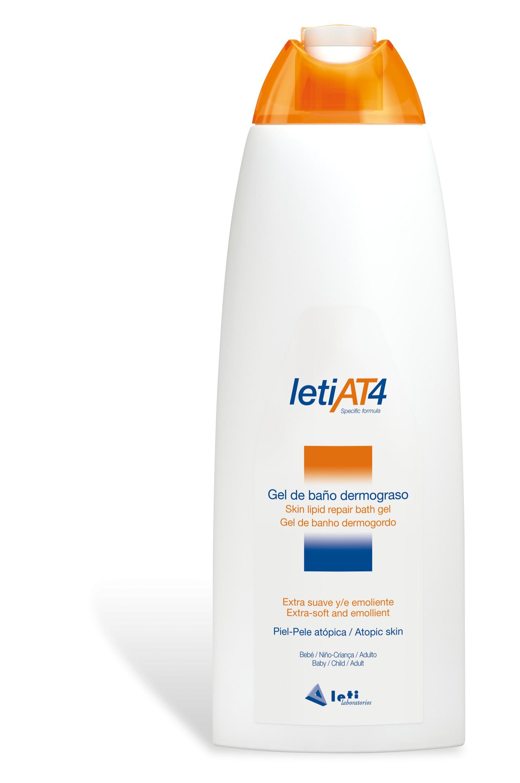 Gel de baño dermograso LetiAt4