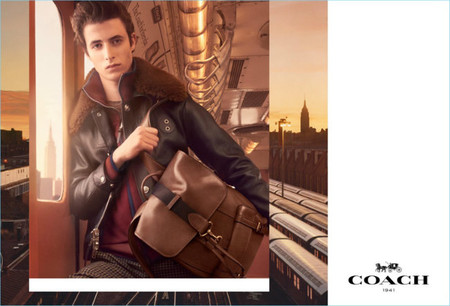 Coach Fall Winter 2017 Men Campaign Brown Leather Bleeker Backpack