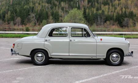 Mercedes Benz 180a Ponton 100