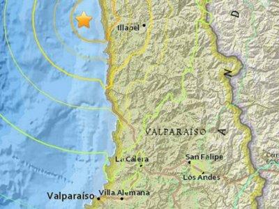 Chile se encuentra bajo alerta debido a un fuerte terremoto de 8,3 grados