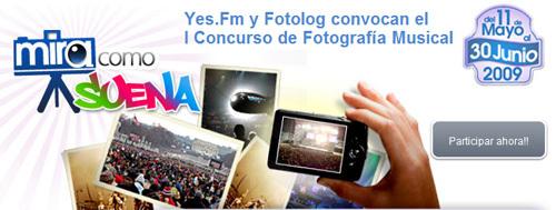 Concurso de fotografía musical Yes.fm-Fotolog