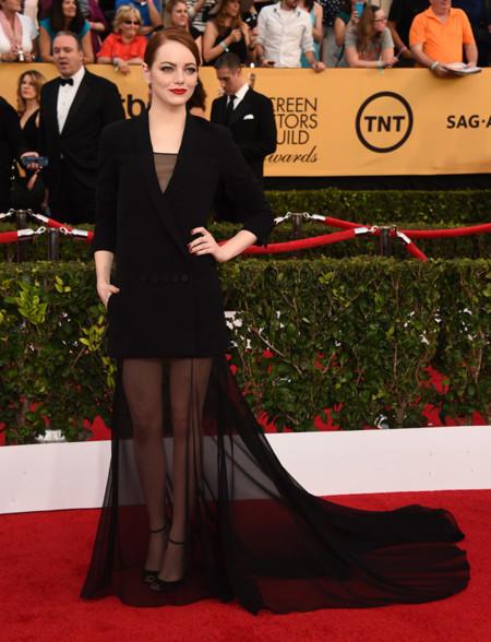 Emma Stone Christian Dior Couture Sag 2015