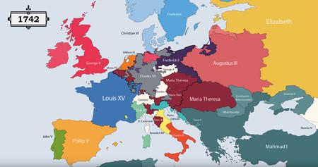 Mapa 1742