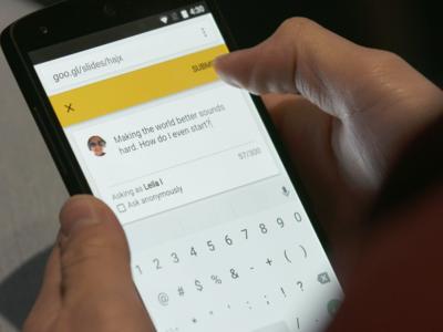 """Presentaciones de Google presenta """"Preguntas y Respuestas"""", se acabó el no preguntar por timidez"""