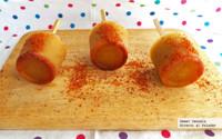 Paletas heladas de pepino con chile. Receta