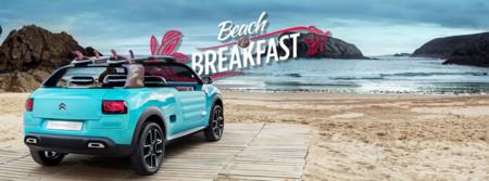 'Beach & Breakfast':  porque si quieres, puedes probar el Citroën Cactus M