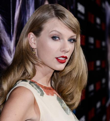 Taylor Swift en el estreno de Romeo y Julieta