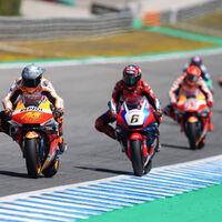 La penuria de Honda en MotoGP: 17 caídas, 18 carreras sin ganar y una moto rabiosa que complica el regreso de Marc Márquez