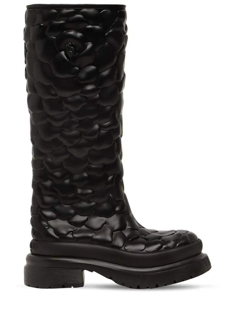 Botas Atelier Shoes Valentino Garavani 03 Rose Edition de goma.