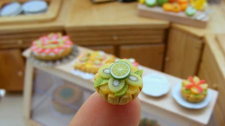 Comida en miniatura de Shay Aaron - cocina