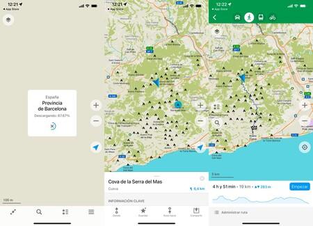Organic Maps Iphone
