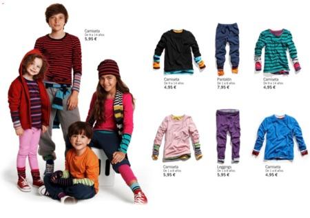 HM viste a los niños en su vuelta al cole con su colección Otoño-Invierno 2010/2011 I