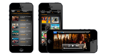Amazon Instant Video llega al iPhone