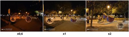Xiaomi Mi 9 Lite Camara Trasera Noche