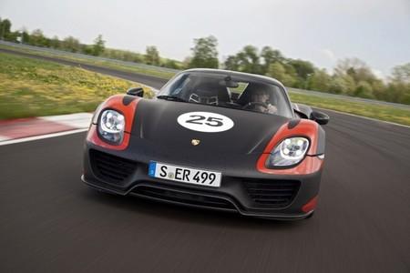 Porsche 918 Spyder frontal