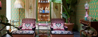 Ecléctica y romántica: Gucci Décor inaugura tienda efímera en Milán