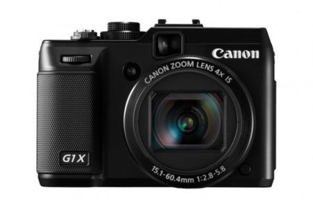 Canon G1 X diseño